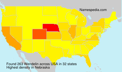 Surname Wendelin in USA