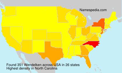 Surname Wendelken in USA