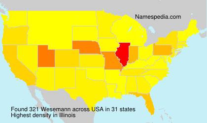 Surname Wesemann in USA