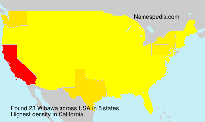 Surname Wibawa in USA