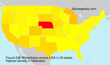 Surname Wiebelhaus in USA