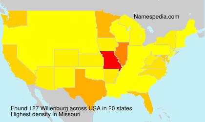 Surname Willenburg in USA