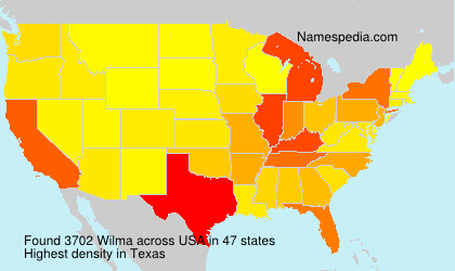 Surname Wilma in USA
