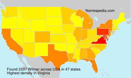 Familiennamen Wilmer - USA