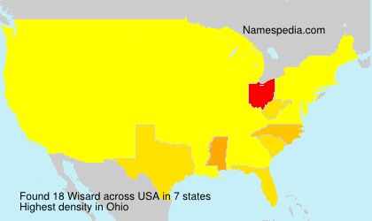 Surname Wisard in USA