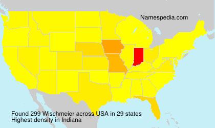 Surname Wischmeier in USA