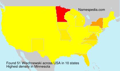 Familiennamen Wischnewski - USA