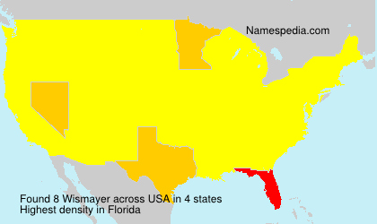 Surname Wismayer in USA