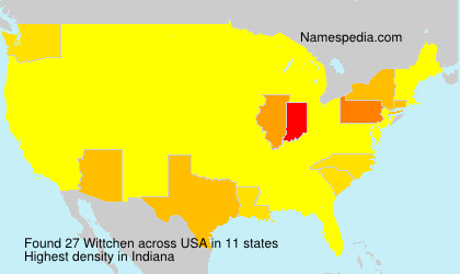 Familiennamen Wittchen - USA