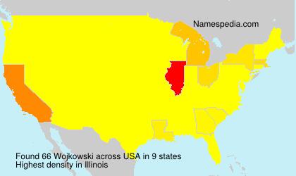 Surname Wojkowski in USA