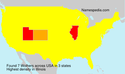 Surname Wolhers in USA