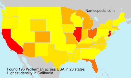 Surname Wollerman in USA