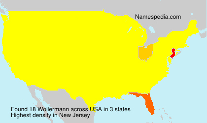 Surname Wollermann in USA