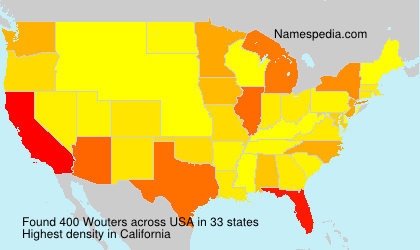 Surname Wouters in USA