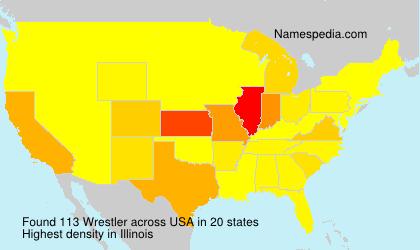 Surname Wrestler in USA