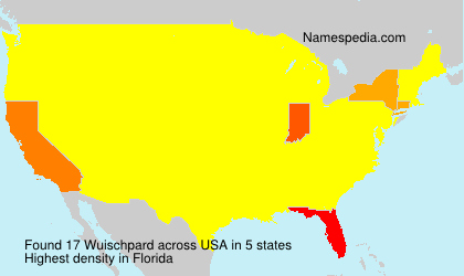 Surname Wuischpard in USA
