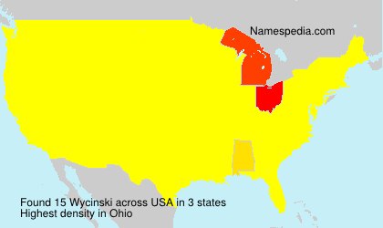 Surname Wycinski in USA