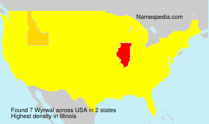 Surname Wyrwal in USA