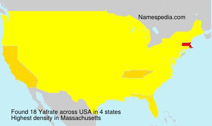 Yafrate - USA