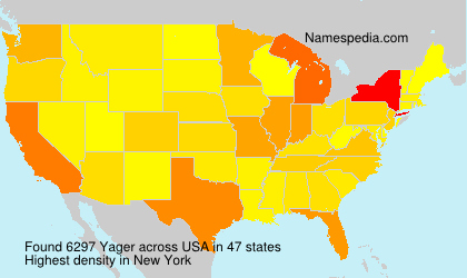 Surname Yager in USA