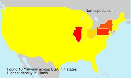 Yakymiv - USA