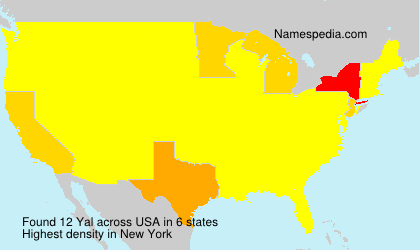 Surname Yal in USA