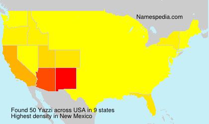 Yazzi - Names Encyclopedia