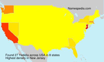 Familiennamen Yedidia - USA