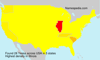 Surname Yessa in USA