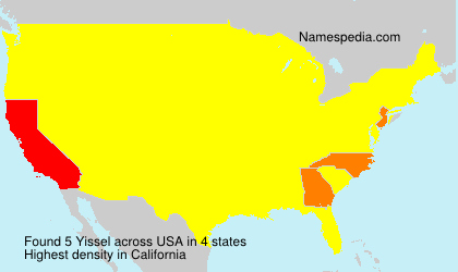Surname Yissel in USA
