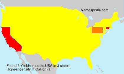 Surname Yoddha in USA