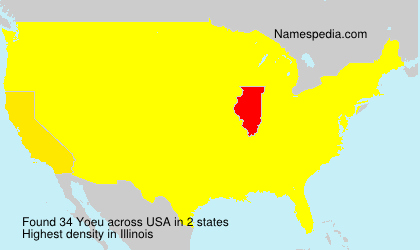 Surname Yoeu in USA