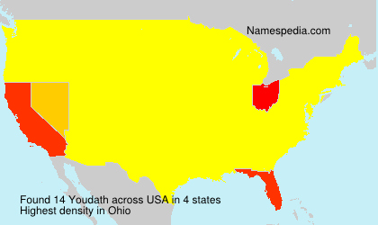 Surname Youdath in USA