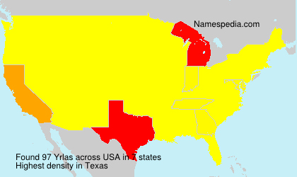 Surname Yrlas in USA