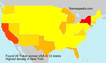 Surname Yukari in USA