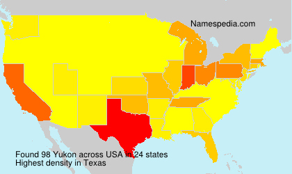 Surname Yukon in USA