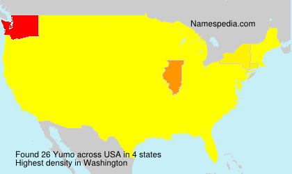 Surname Yumo in USA