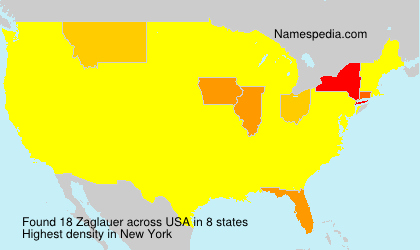 Surname Zaglauer in USA