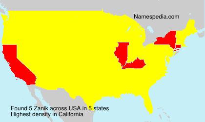 Zanik - USA