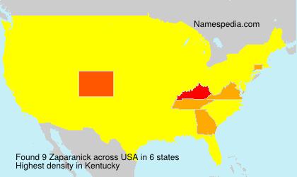 Zaparanick - USA