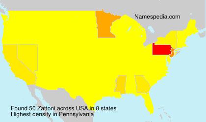 Zattoni - USA
