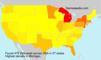 Familiennamen Zbikowski - USA