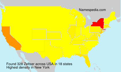 Surname Zeltser in USA