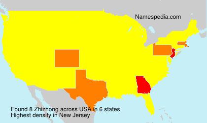 Surname Zhizhong in USA