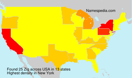 Surname Zig in USA