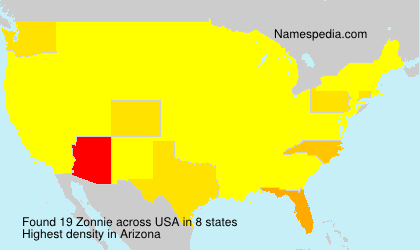 Zonnie - USA
