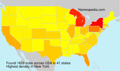 Surname male in USA
